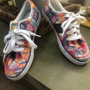 Ralph Lauren Polo Madras Plaid sneakers